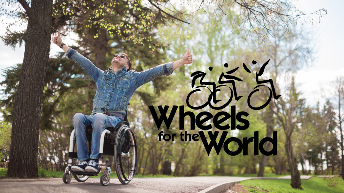 Wheels for the World Donation Event