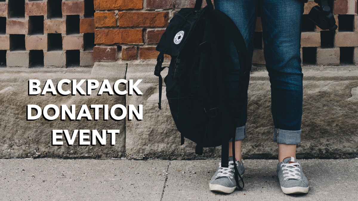 Backpack Donation Event